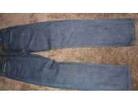 "American Eagle Outfitters Dark Rinse slim straight Jeans 32""x34"""