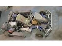 2 seater kart. Biz pro build. Rotax tony