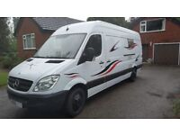 59 PLATE MERCEDES SPRINTER 311 CDi LWB HIGH ROOF MOTORHOME