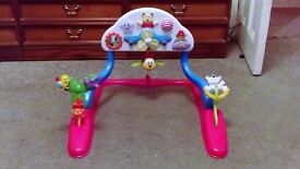 Baby/toddler activities station