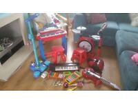 Job lot musical instruments toys all in great working order