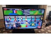 """SAMSUNG 39"""" LED TV FREEVIEW HD/SMART/WIFI READY/100HZ/MEDIA PLAYER/SUPER SLIM AS NEW NO OFFERS"""