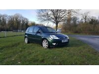 Ford Fiesta Ghia year 2004,Full leather interior
