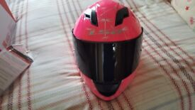 LS2 crash helmet