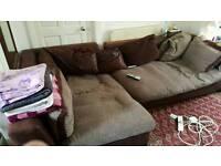 Lovely Large Corner Sofa