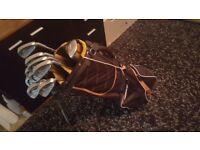 Quality full golf set ping/adams/ plus waterproof top