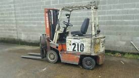 Nissan 2Ton electric forklift.