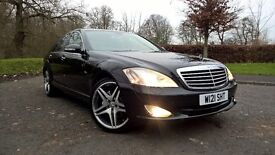 59 mercedes benz 320 cdi s class low miles with service history finished in gleaming black