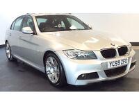 2009 59 BMW 3 SERIES 2.0 318D M SPORT 4D 141 BHP DIESEL*2 YEARS WARRANTY*FINANCE AVAILABLE