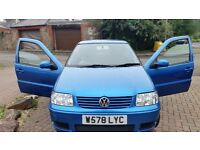 Vw polo 112months mot central lock remote control key great drive cheap on fuel and tax