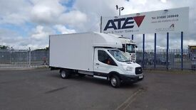 2014-64 plate new model ford transit 350-125 extended frame luton tailift low mileage