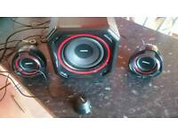Philips 2.1 Speakers,74.99 RRP!