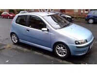 FIAT PUNTO 1.8cc SPECIAL EDITION MODEL 2001 £495