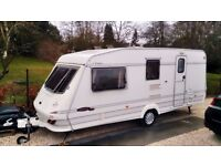 Elddis Typhoon GT Touring Caravan, Holiday Home Tourer