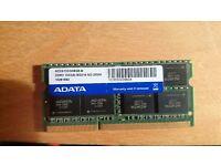 Adata 8GB RAM DRR3