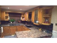 Solid Oak Kitchen Cupboard Doors and Drawer Fronts