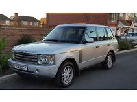 Land Rover Range Rover 4.4 HSE Auto (2003/03 Reg) + 104K + FSH + GEARBOX NEEDS TLC +