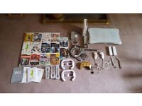 Nintendo Wii package -console, 14 games, balance board, nunchucks, limited ed. controller & more!