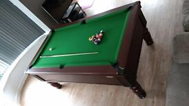 Superleague Winchester 7ft pool table
