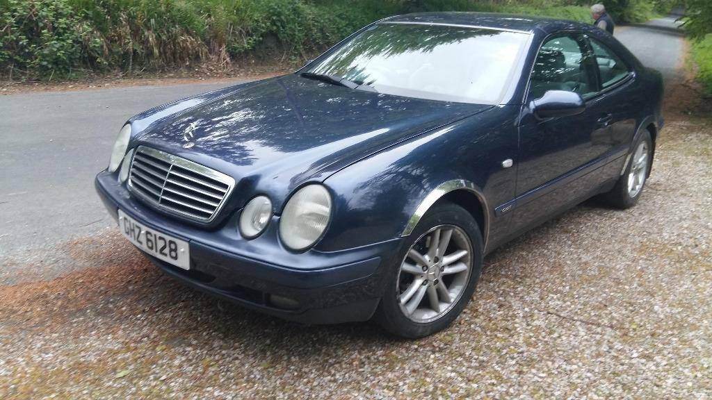 mercedes benz clk 230 kompressor auto full year mot in four winds belfast gumtree. Black Bedroom Furniture Sets. Home Design Ideas
