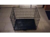 Medium Dog cage - 2 doors, collapsible