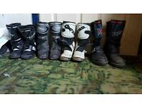 Kids motocross gear boots,armour,suits