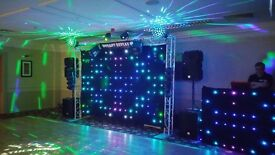 Full Mobile Disco - Lighting and sound systems plus lockable trailer