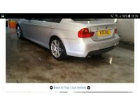 Alloy wheels and tyres from BMW 318d M Sport 2006 E90 E91 Breaking