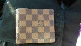 Louis vuitton mens wallet used once