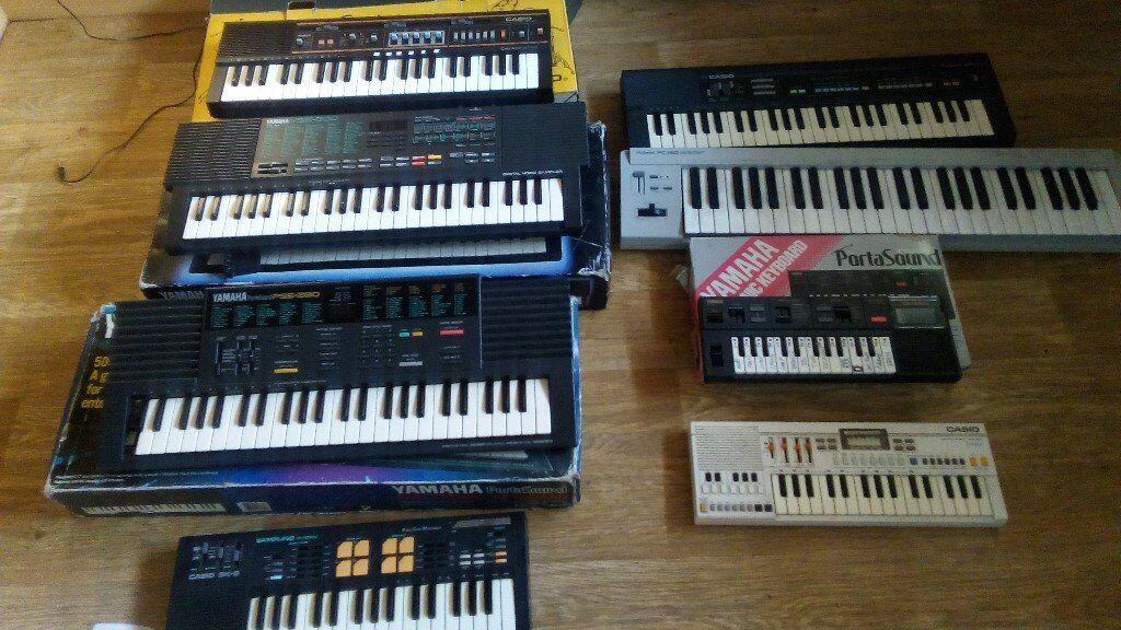 10 x keyboards yamaha vss 200 / pss