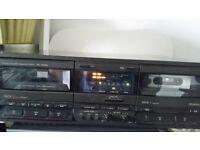 Technics twin cassette deck