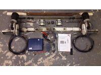 PowrTouch Classic Single Axle Manual Engaging Caravan Motor Mover