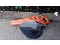 Flymo 1500 Garden Leaf Blower/Vacuum