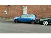 Renault clio 2002 moted