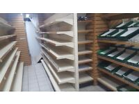 Retail shelving units for sale