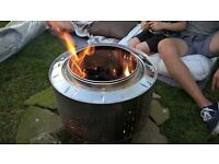 Stainless steel fire pit / bbq / patio heater