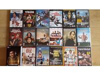 18 dvds for sale