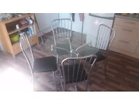 DINING TABLE AND CHAIRS BARGAIN