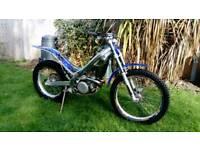 Sherco 125 trials bike 2004