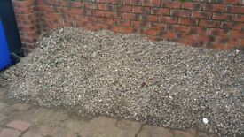 Gravel approx 15mm suitable for gardens or building material