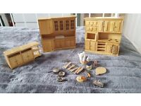 Doll house emporium house and furniture