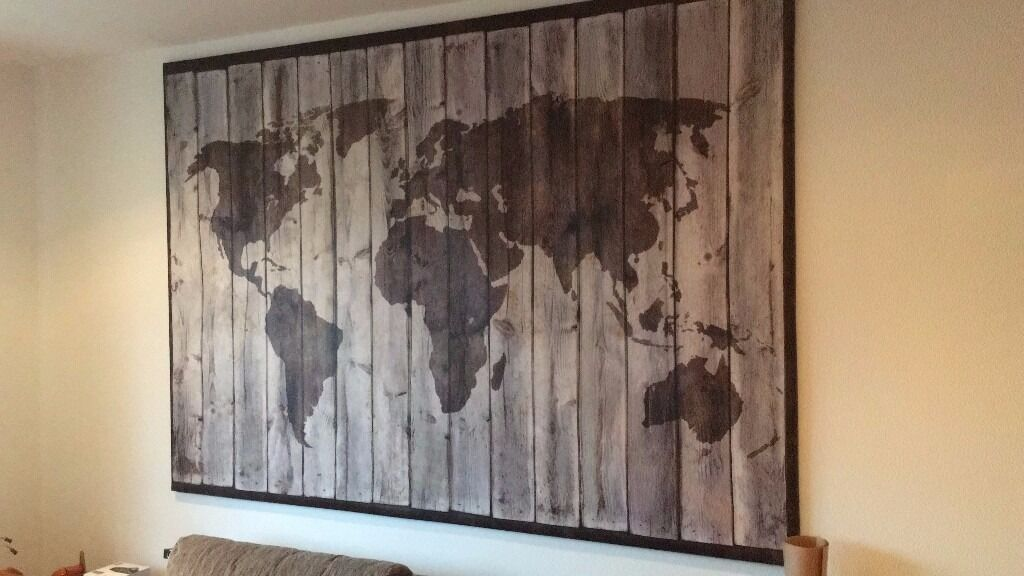 Ikea driftwood world map picture large canvas in earls court ikea driftwood world map picture large canvas gumiabroncs Choice Image