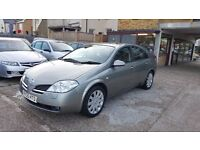 2005 Nissan Primera 1.8 SVE 5dr / 2 OWNERS / F/S/H/ LEATHER