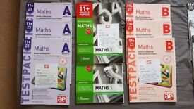 11 Plus - Grammar School Exam Test Packs and Books