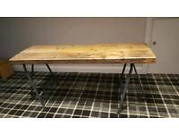 BEAUTIFUL RUSTIC TABLE BRAND NEW