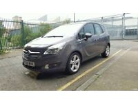 Vauxhall Meriva Tech Line 2014 year, low mileage of 18000, 1.4 petrol