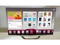 "LG 47"" 3D SMART CHROME LED TV, LIKE BRAND NEW, DELIVERY"