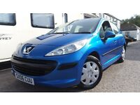 2006 PEUGEOT 207 S 1.6 HDI 90 BLUE NEW MOT NEW CAMBELT LOW MILEAGE VERY GOOD CON