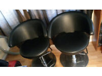 2 x barber/hairdresser chairs for sale
