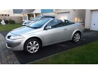RENAULT MEGANE 1.6cc CONVERTIBLE. (57)REG. MANUAL. ONE OWNER. EXC COND; £1650